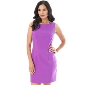 AB Studio Sheath Dress Petite